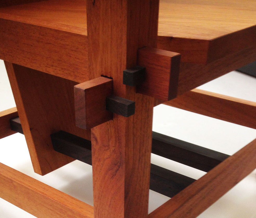 japanese wooden glueless joint chair