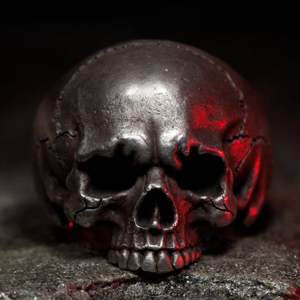 skull ring red light 1 square