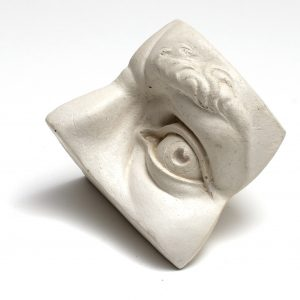 Sculpture Reference Model - Male Eye